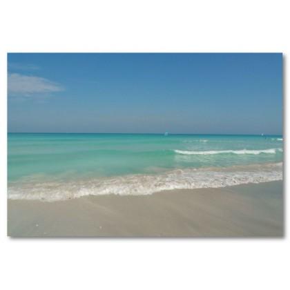 Αφίσα (θάλασσα, άμμος, καλοκαίρι)